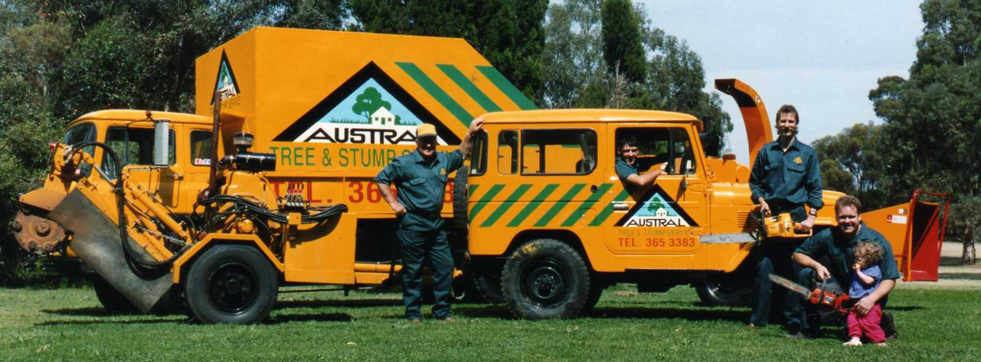 Old photo of Austral Tree Solutions Adelaide
